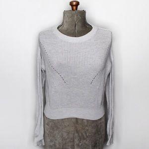 🎀3/$30 Garage Light Grey Crewneck Knit Sweater